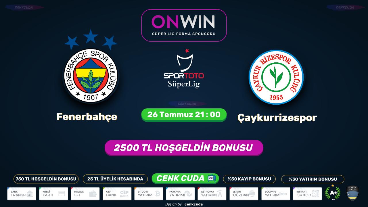 Fenerbahçe Çaykur Rizespor
