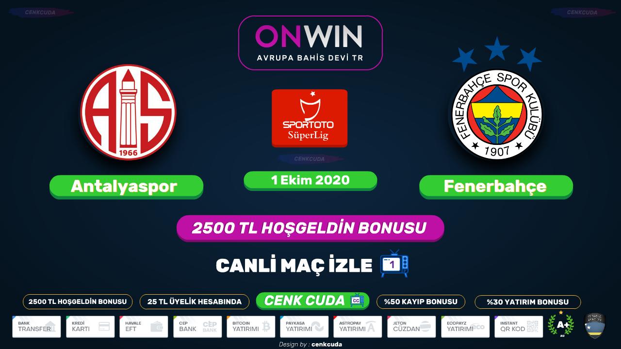 Antalyaspor Fenerbahçe