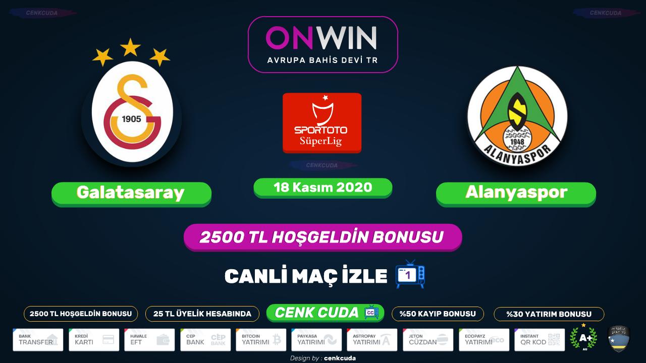 Galatasaray -Alanyaspor