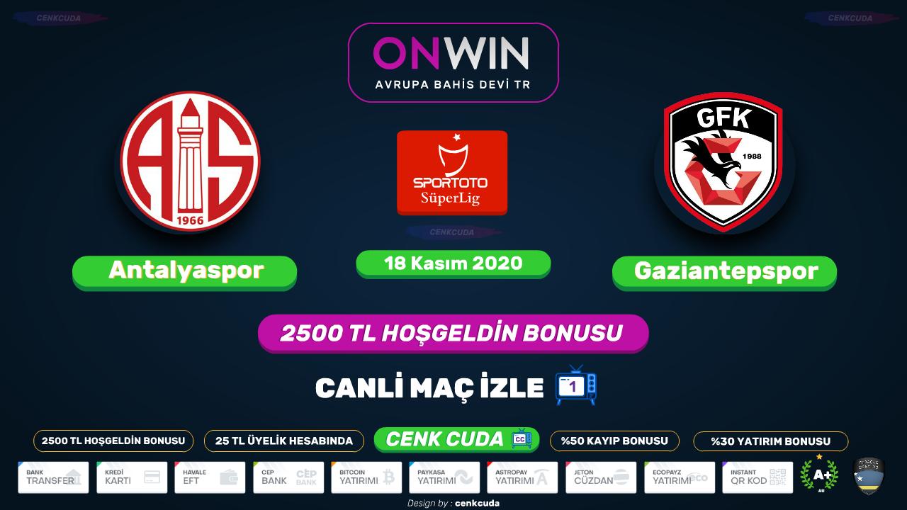 Antalyaspor - Gaziantep FK