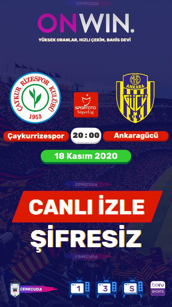 Çaykur Rizespor - MKE Ankaragücü