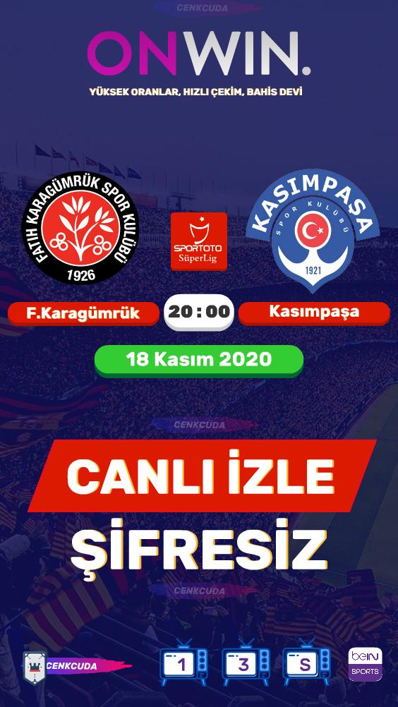 Fatih Karagümrük - Kasımpaşa