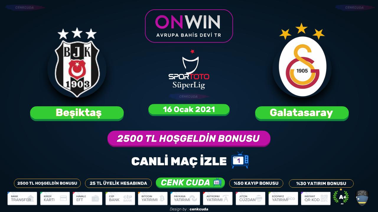 Beşiktaş Galatasaray Maçı izle bein sport 1