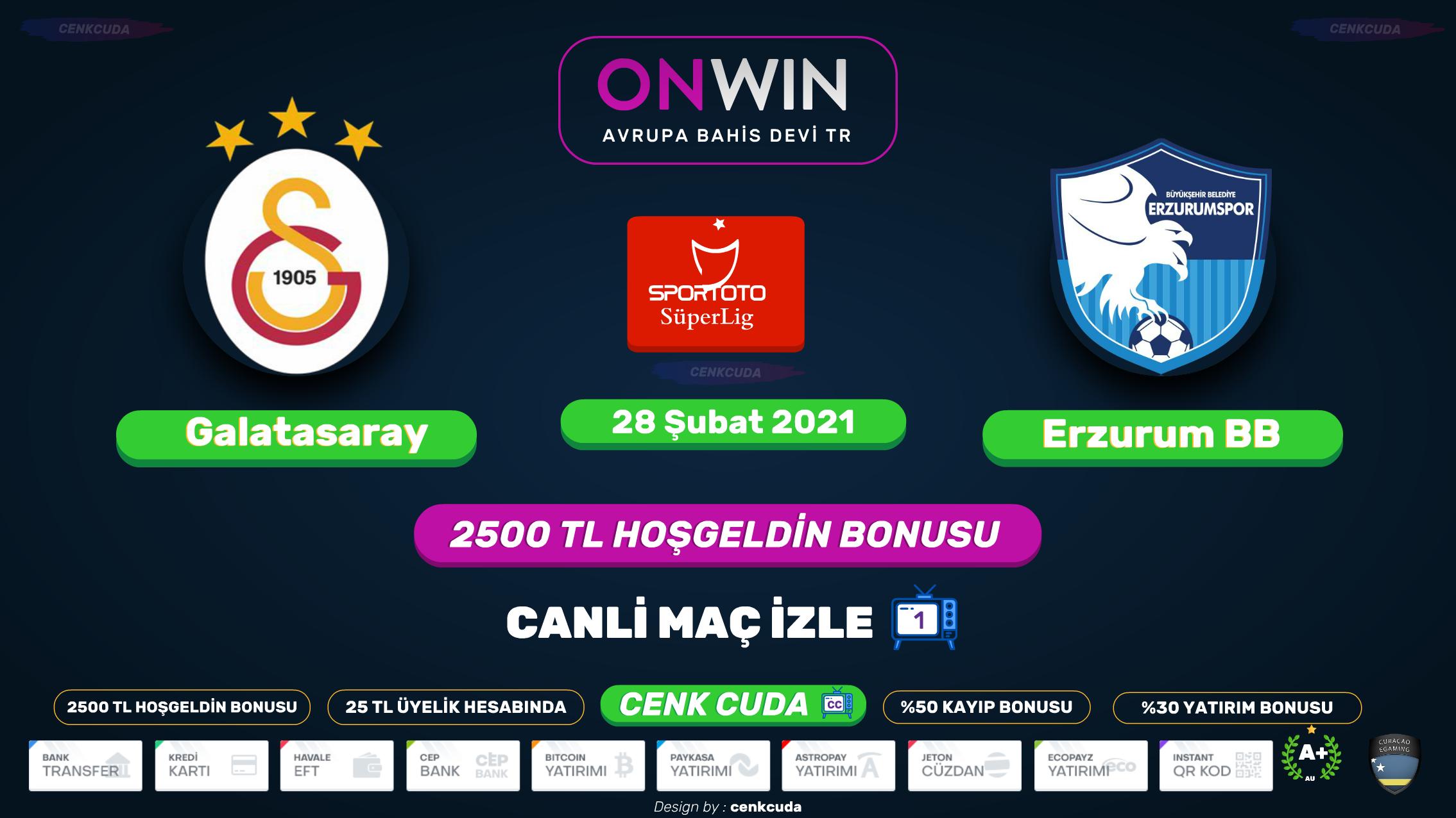 Galatasaray-BB Erzurumspor