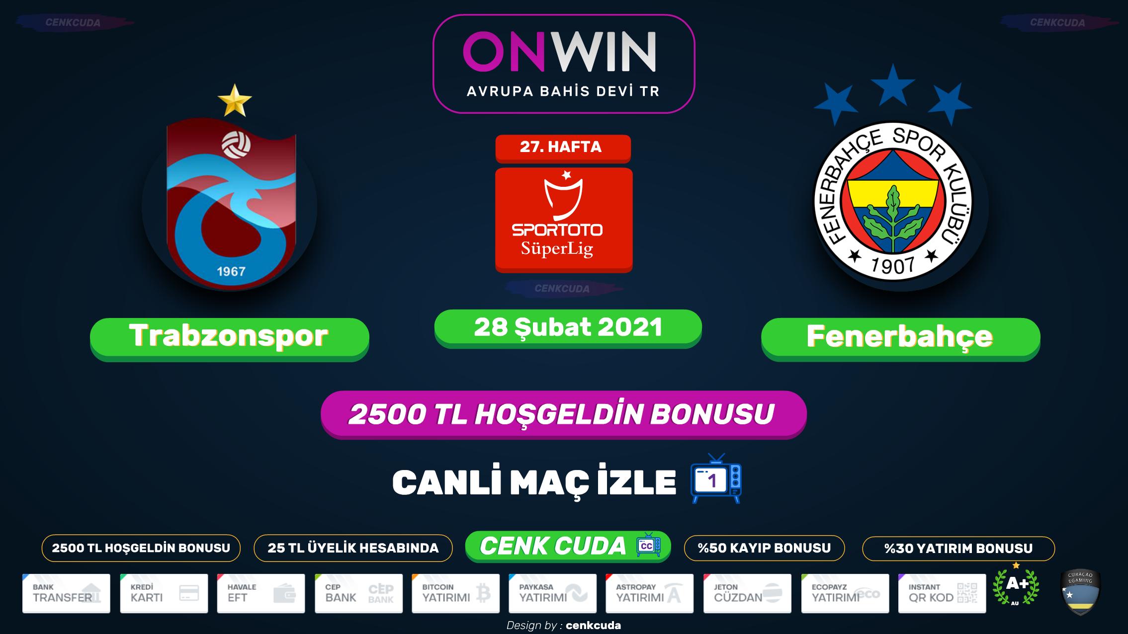 Trabzonspor Fenerbahçe maci izle sifresiz