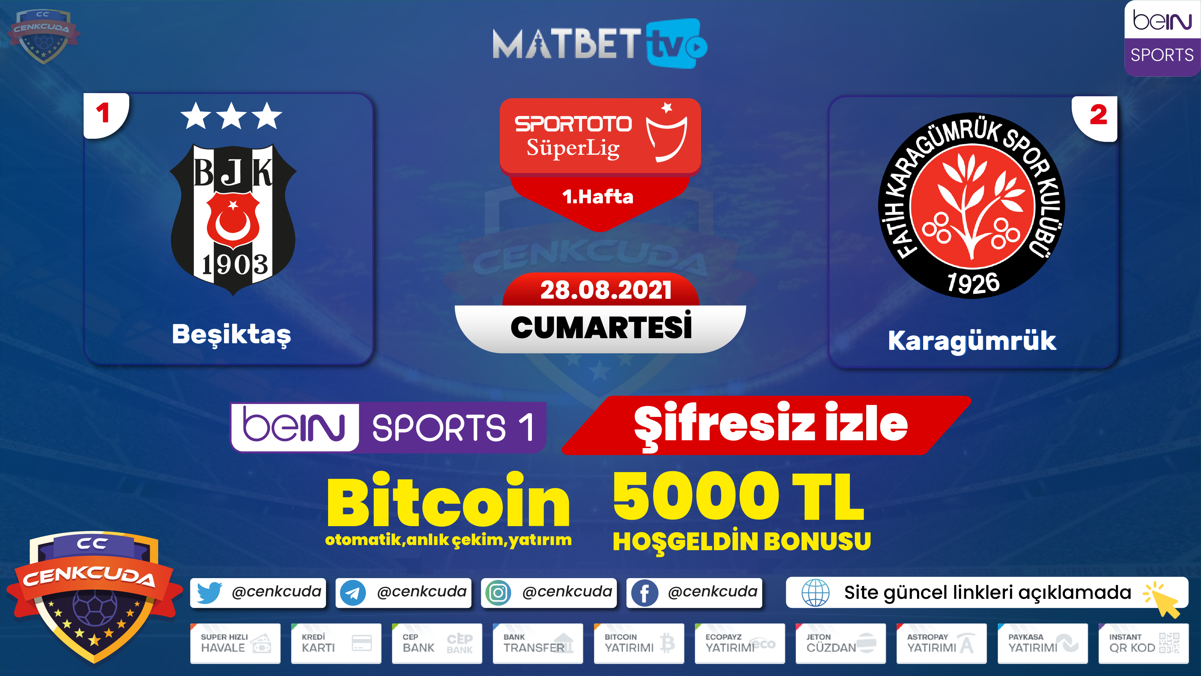 Beşiktaş Fatih Karagümrük
