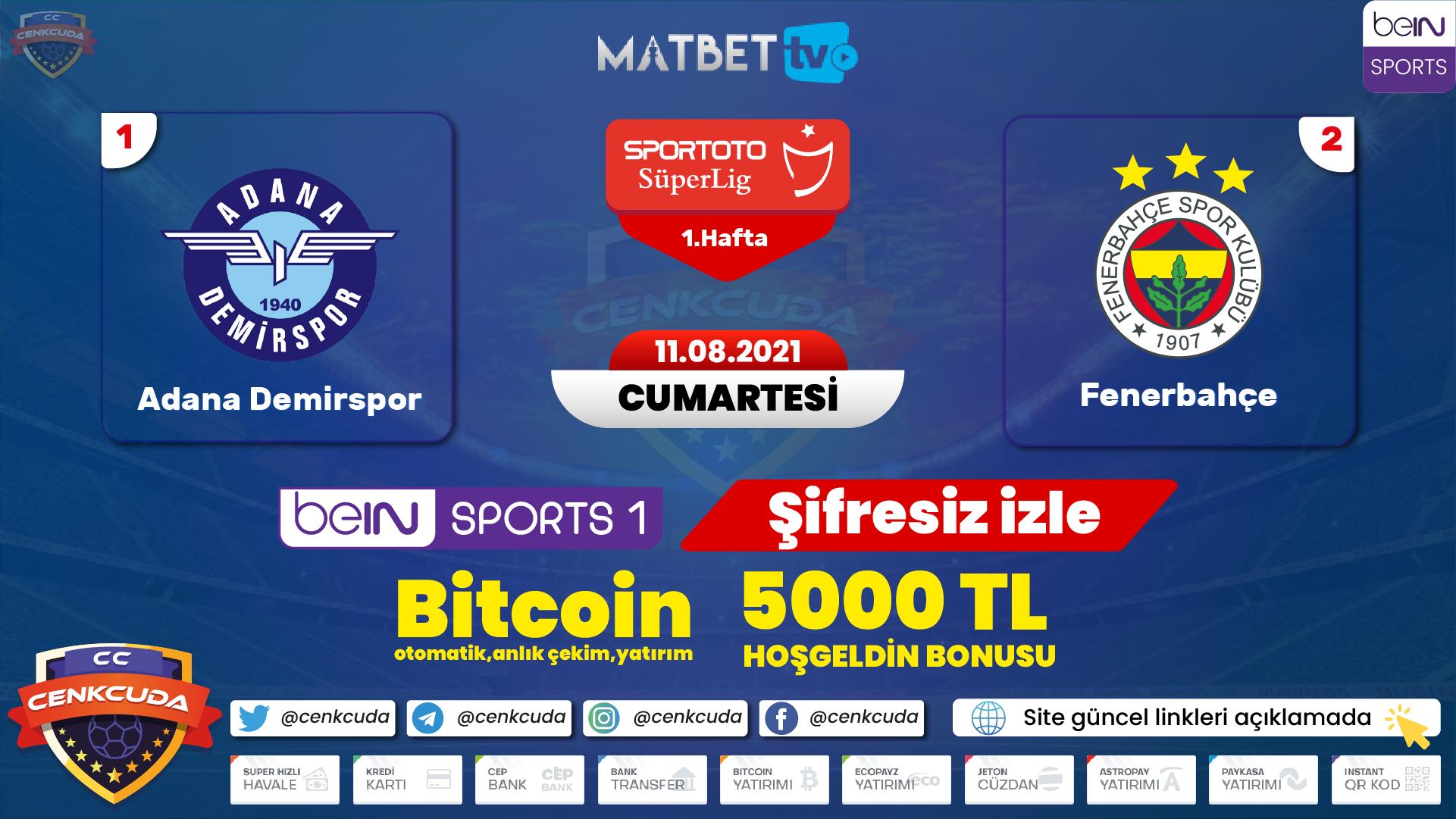 Fenerbahçe Adana demirspor